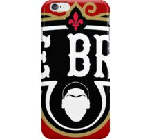 The Brow (Black) iPhone Case/Skin