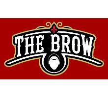 The Brow (Black) Photographic Print
