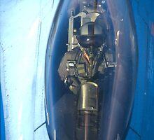 F16 Pilot by giuseppe maffioli