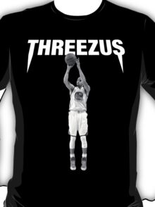 THREEZUS - Stephen Curry  T-Shirt