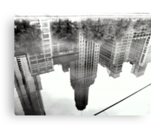 REFLECTIONS  UPSIDE DOWN Canvas Print