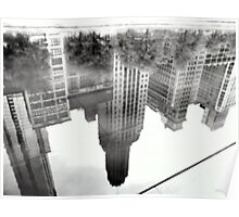 REFLECTIONS  UPSIDE DOWN Poster