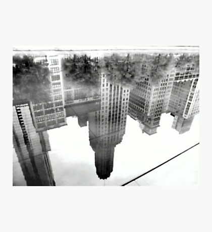 REFLECTIONS  UPSIDE DOWN Photographic Print