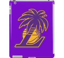 Los Angeles Lakers Tropical Logo iPad Case/Skin