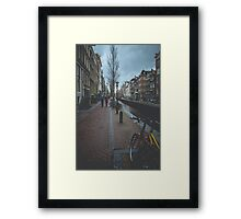 Mysterious Amsterdam Framed Print