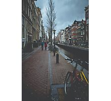 Mysterious Amsterdam Photographic Print