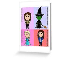 4 Idinas Greeting Card