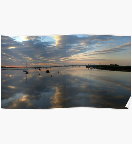 Dawn at Orford Ness  Poster