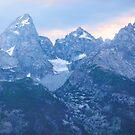 Grand Tetons Glacier Sunset by Stacey Lynn Payne