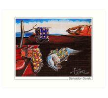 Salvador Dalek Art Print