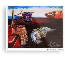 Salvador Dalek Metal Print