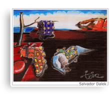 Salvador Dalek Canvas Print
