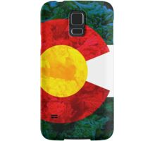 Colorado Chronic Flag Samsung Galaxy Case/Skin