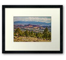 Spectacular Utah Landscape Views Framed Print