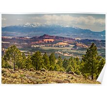 Spectacular Utah Landscape Views Poster