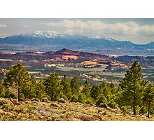 Spectacular Utah Landscape Views Photographic Print