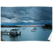 Looking Glass Bay, Gladesville Poster