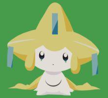 Jirachi Pokemon Simple No Borders Kids Tee