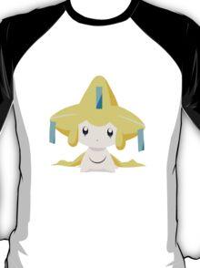 Jirachi Pokemon Simple No Borders T-Shirt