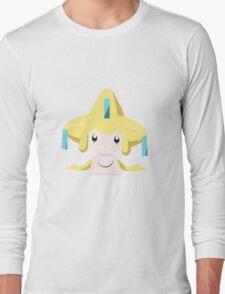 Jirachi Pokemon Simple No Borders Long Sleeve T-Shirt
