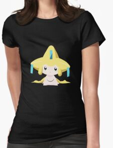Jirachi Pokemon Simple No Borders Womens Fitted T-Shirt