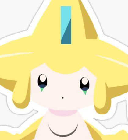 Jirachi Pokemon Simple No Borders Sticker