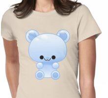 Blue Gummy bear Womens Fitted T-Shirt