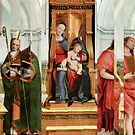 Madonna with Christ Child, Pope, Joseph and David Hockney. by nawroski .