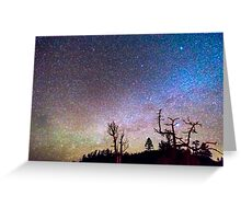 Starry Universe Greeting Card