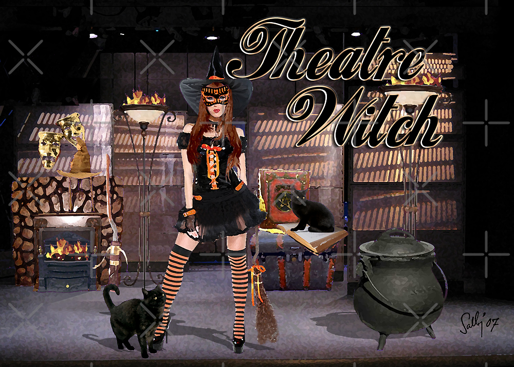 Theatre Witch by Sally McLean