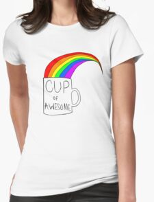 Cup Of Awesome Womens Fitted T-Shirt