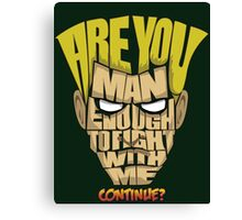 Guile Wins Canvas Print