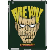 Guile Wins iPad Case/Skin