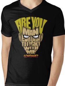 Guile Wins Mens V-Neck T-Shirt