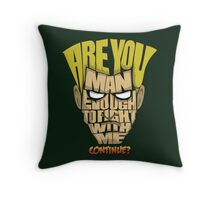 Guile Wins Throw Pillow