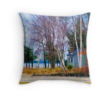 Springtime in Northern Ontario Throw Pillow