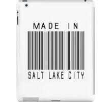 Made in Salt Lake City iPad Case/Skin