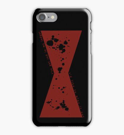 Red in my Ledger v2 iPhone Case/Skin