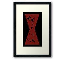 Red in my Ledger v2 Framed Print