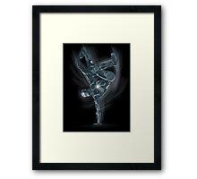Dancing Robot Framed Print
