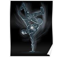 Dancing Robot Poster