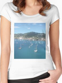 Mountain Isle Women's Fitted Scoop T-Shirt