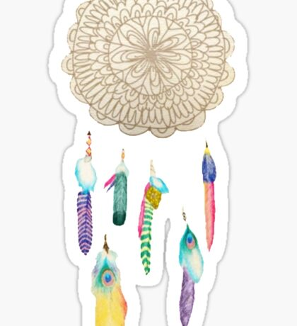 Medallion Tumblr Dreamcatcher Sticker