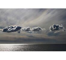 Painted Clouds Photographic Print