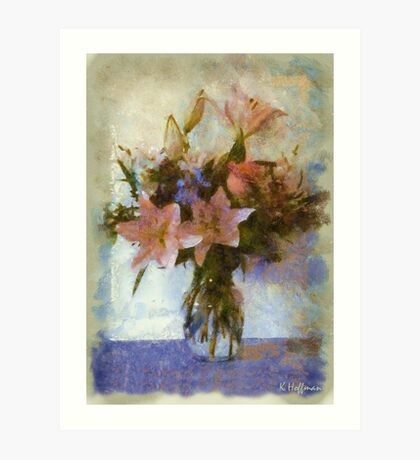 Mother's Day Bouquet Art Print