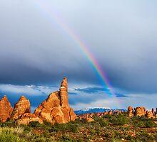 Utah Rainbow by Bo Insogna