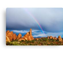 Utah Rainbow Canvas Print