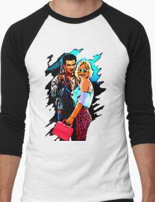 Mr & Mrs Worley Men's Baseball ¾ T-Shirt