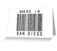 Made in San Diego Greeting Card