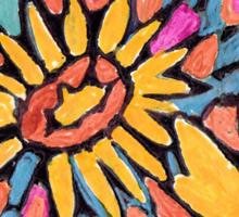 FLOWER DESIGN Sticker